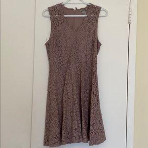 H&M Lace v neck formal dress